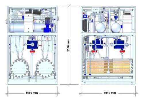 Установка по производству водорода, генерация водорода