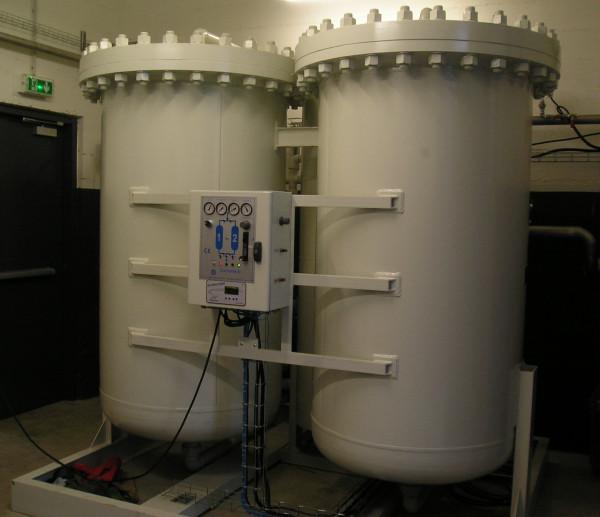 Система производства азота. Генератор азота