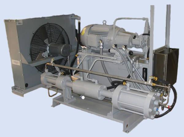 Поршневой компрессор для закачки азота в баллоны